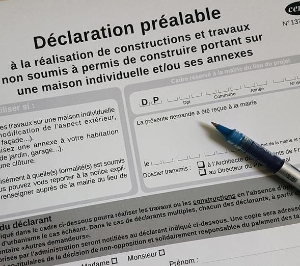 Permis De Construire Declaration Prealable De Travaux Autorisation D